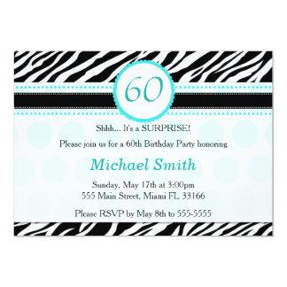 Invitación adulta de la fiesta de cumpleaños de la