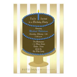 Invitación adulta de la fiesta de cumpleaños -- To