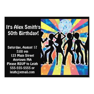 Invitación adulta del cumpleaños del niño de la invitación 12,7 x 17,8 cm