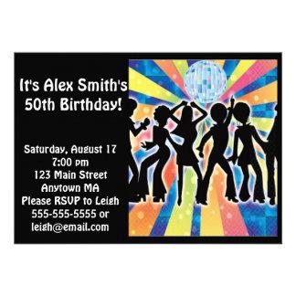 Invitación adulta del cumpleaños del niño de la da