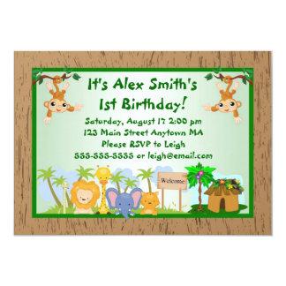 Invitación adulta del cumpleaños del niño de los