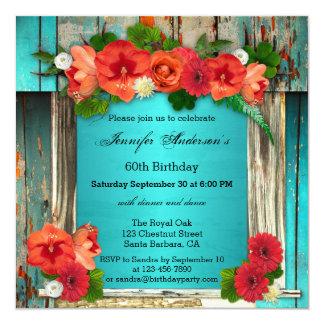 Invitación adulta elegante bohemia de la fiesta de