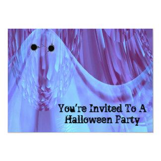 Invitación artsy original del fiesta de Halloween