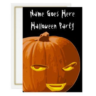 Invitación astuta del fiesta de Halloween de la