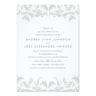 Invitación atractiva de la bodas de plata