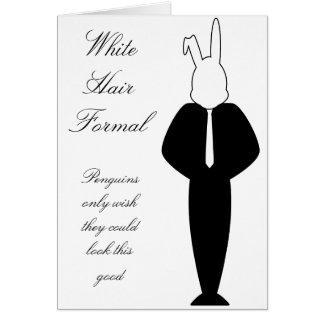 Invitación blanca de la tarjeta de felicitación de