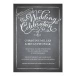 Invitación blanca del boda de la escritura de la