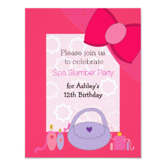 Invitación bonita de la fiesta de cumpleaños del