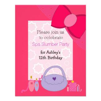 Invitación bonita de la fiesta de cumpleaños del b