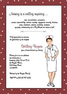 Invitaciones Enfermeras Bonitas Zazzlees