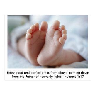 Invitación buena y perfecta del embarazo del ~ del postal