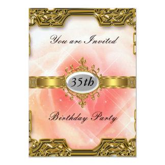 Invitación caliente 2 de cumpleaños del encanto