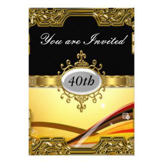 Invitación caliente de cumpleaños del encanto mode