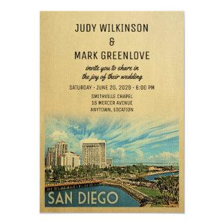 Invitación California del boda de San Diego