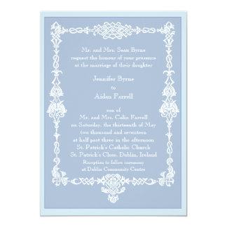 Invitación céltica del boda del capítulo - estilo