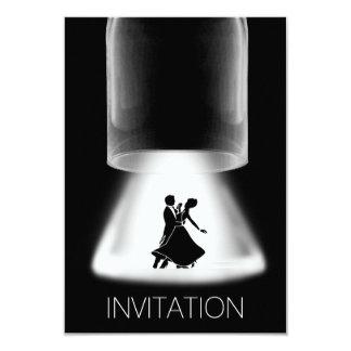 Invitación clásica de la danza del festival de