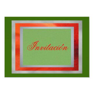 Invitación - colores de México