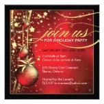 Invitación con clase de la fiesta de Navidad