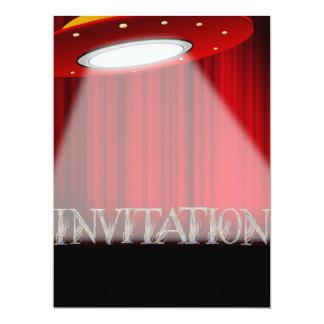 Invitación conceptual del fiesta de sorpresa del