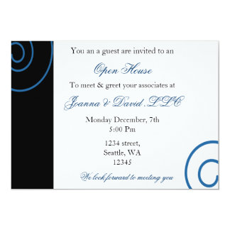 Tarjeta Invitación corporativa del fiesta de la diversión