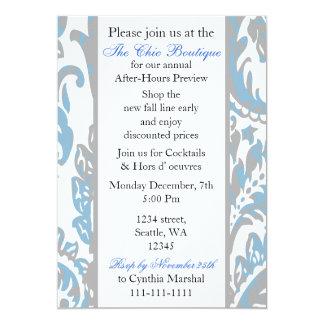 Invitación corporativa elegante del fiesta