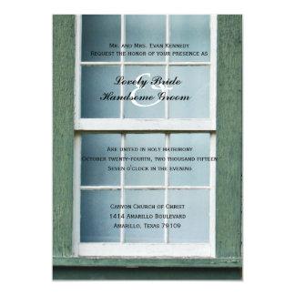 Invitación cristiana arqueada del boda de la