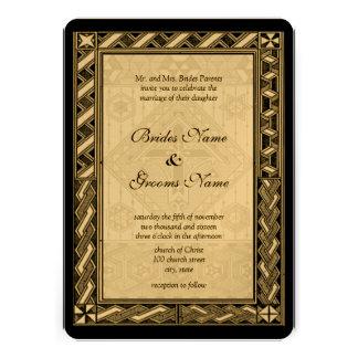 Invitación cristiana del boda de la cruz del vitra