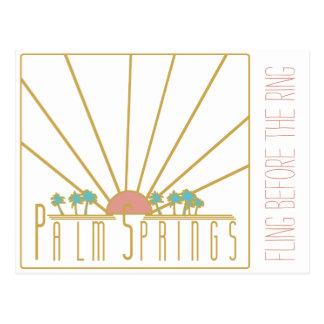 Invitación de Bachelorette del Palm Springs