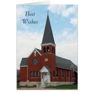 Invitación de boda de la iglesia luterana