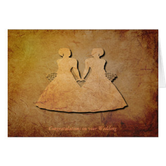 Invitación de boda de la textura del vintage para