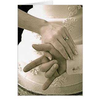 Invitación de boda de SLG