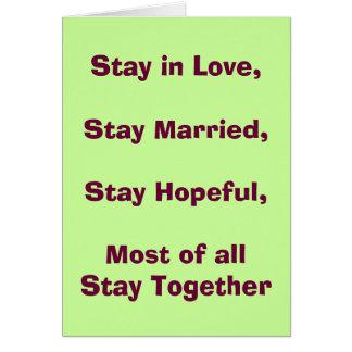 Invitación de boda divertida del amor tarjeta de felicitación