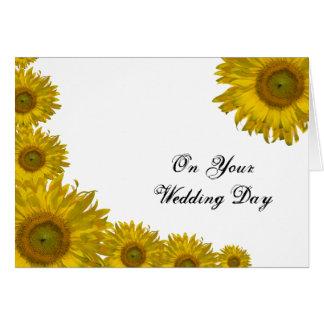 Invitación de boda mezclada borde de la familia tarjeta de felicitación