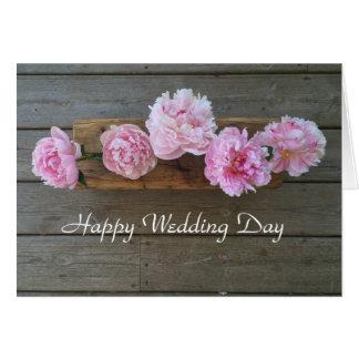 Invitación de boda tarjeta de felicitación