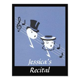 INVITACIÓN de Caroling del coro de las notas