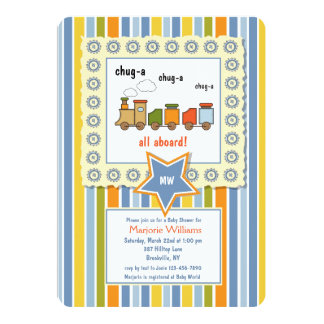Invitación de Choo Choo