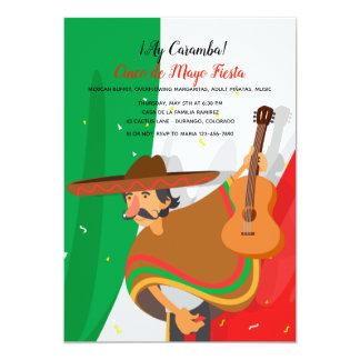 Invitación de Cinco de Mayo del Mariachi