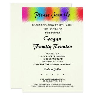 Invitación de cogida de la reunión, del fiesta o