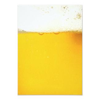 Invitación de consumición del fiesta de la cerveza
