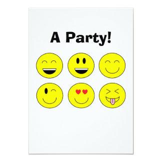 """Invitación de """"Emojis"""""""