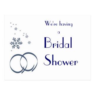 Invitación de encargo de la ducha del boda del