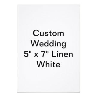 Invitación de encargo del boda a personalizar