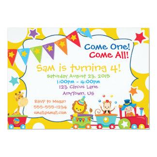 Invitación de encargo del cumpleaños del fiesta