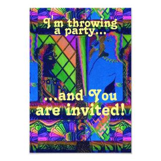 Invitación de encargo del fiesta
