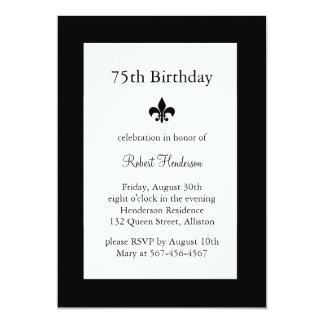 Invitación de Fleur de Lise Birthday