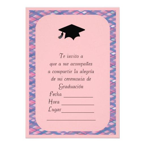 Invitacion de Graduacion Anuncios Personalizados