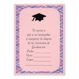 Invitacion de Graduacion Invitación 12,7 X 17,8 Cm