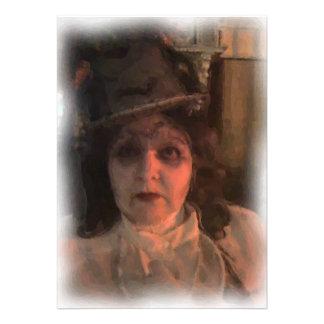 Invitación de Halloween del fantasma