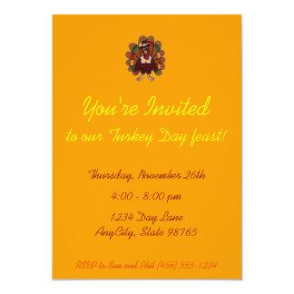 Invitación de la acción de gracias -