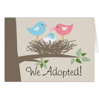 Invitación de la adopción - la jerarquía del
